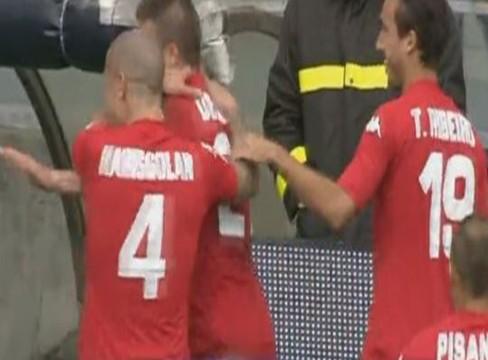 Sampdoria 0-1Cagliari