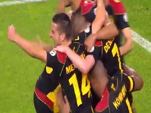 Serbia 0-3 Belgium
