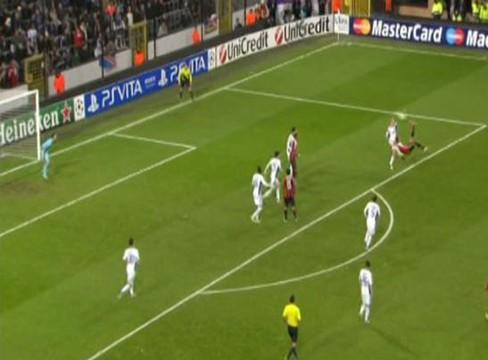 Anderlecht 1-3 AC Milan
