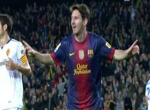 Barcelona 3-1 Real Zaragoza