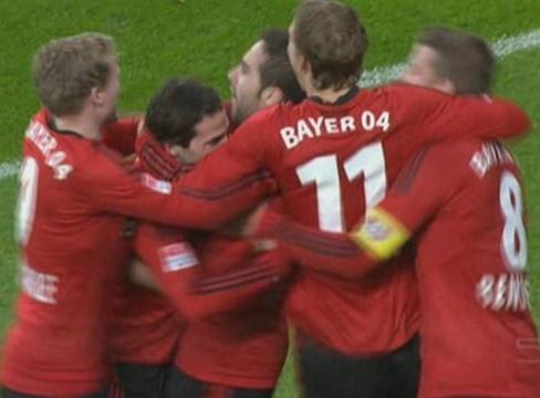 Bayer Leverkusen 3-2 Fortuna Dusseldorf