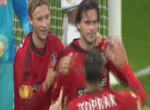 Bayer Leverkusen 3-0 Rapid Wien