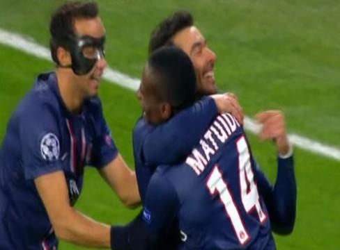 Dinamo Kiev 0-2 Paris Saint-Germain