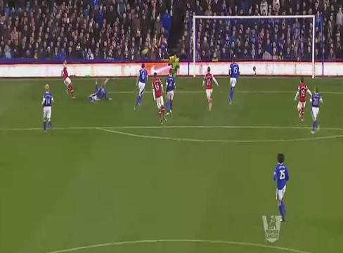 Everton 1-1 Arsenal