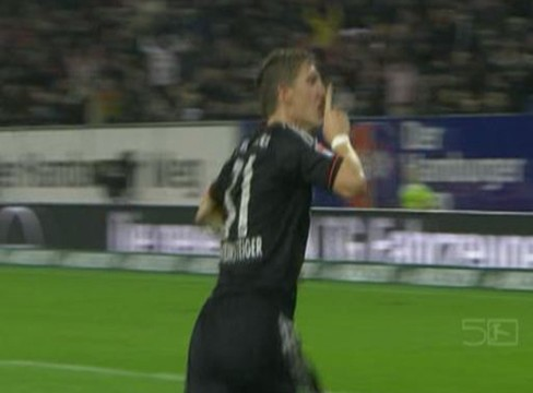 Hamburger SV 0-3 Bayern Munich