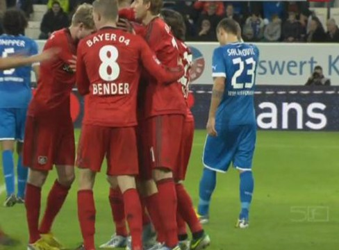 Hoffenheim 1-2 Bayer Leverkusen