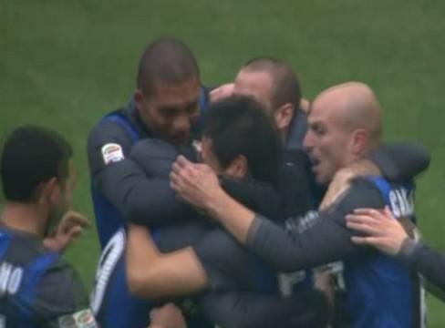 Inter 2-2 Cagliari