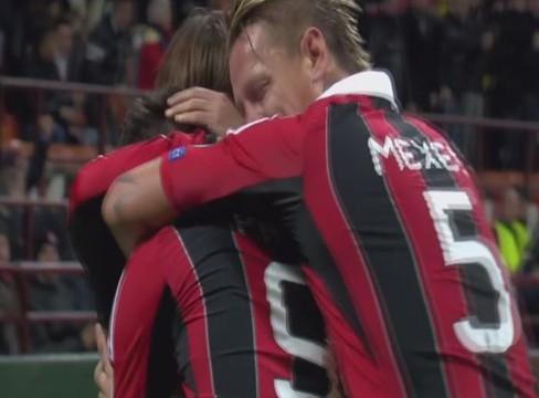 AC Milan 1-1 Malaga