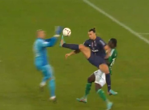 Paris Saint-Germain 1-2 Saint-Etienne