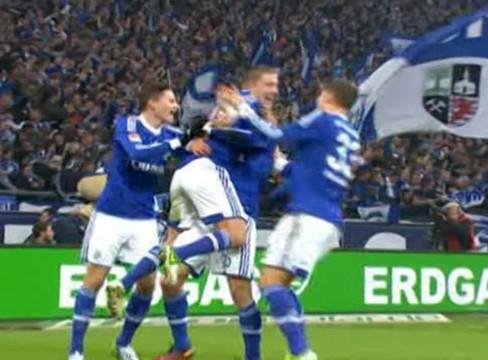 Schalke 1-1 Eintracht Frankfurt