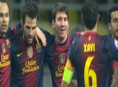 Spartak Moscow 0-3 Barcelona