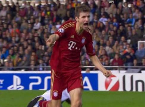 Valencia 1-1 Bayern Munich