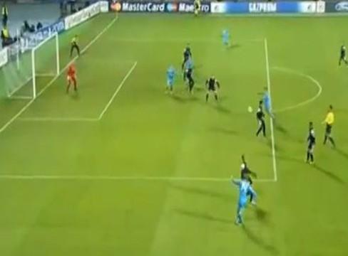 Zenit 2-2 Malaga