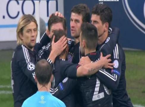 Bayern Munich 4-1 BATE Borisov