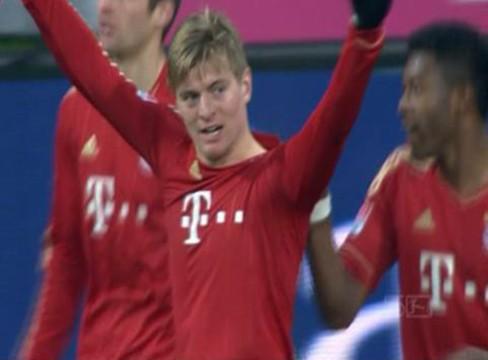 Bayern Munich 1-1 Borussia Dortmund