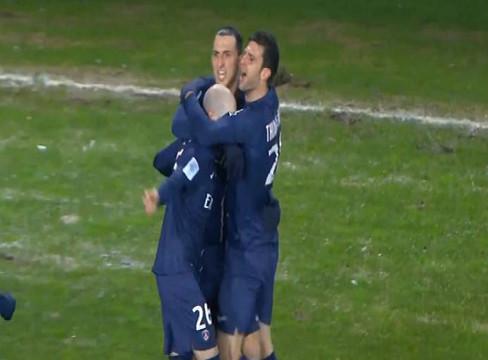 Brest 0-3 Paris Saint-Germain