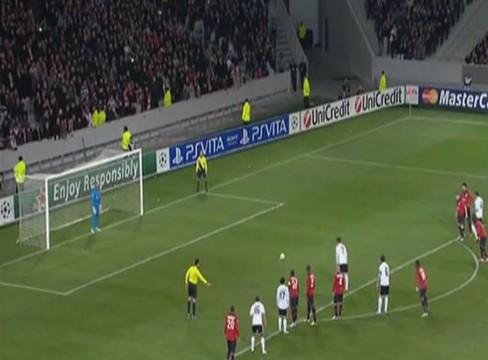 Lille 0-1 Valencia