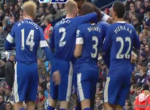 Manchester City 1-1 Everton