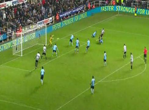Newcastle United 1-0 Queens Park Rangers