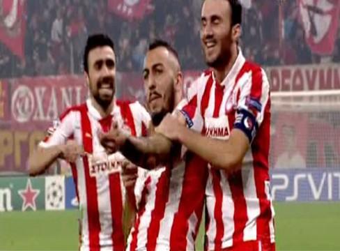 Olympiacos 2-1 Arsenal