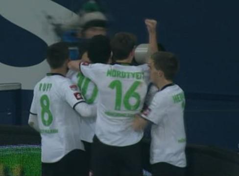 Schalke 1-1 Borussia Monchengladbach