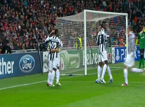 Shakhtar Donetsk 0-1 Juventus
