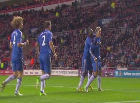 Sunderland 1-3 Chelsea