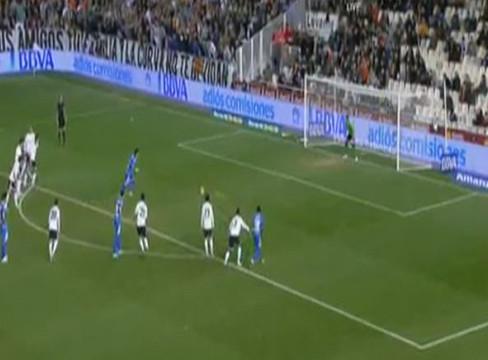 Valencia 0-1 Rayo Vallecano