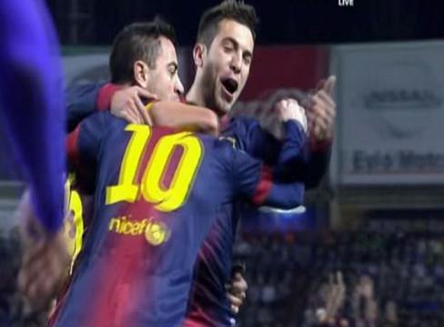 Valladolid 1-3 Barcelona