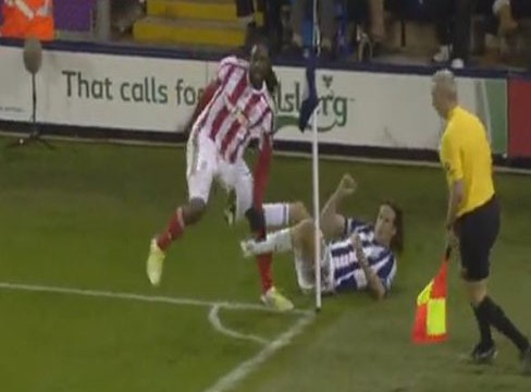 West Bromwich Albion 0-1 Stoke City