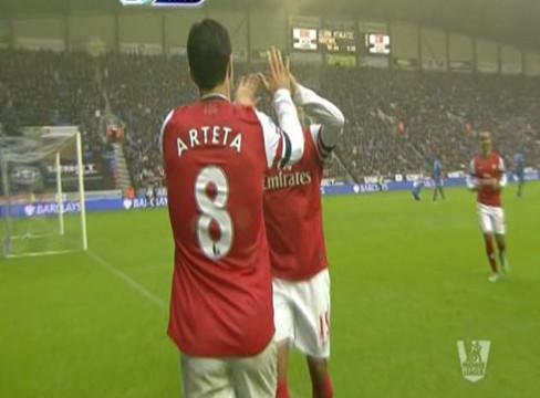 Wigan Athletic 0-1 Arsenal