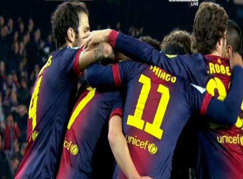 Barcelona 5-0 Cordoba