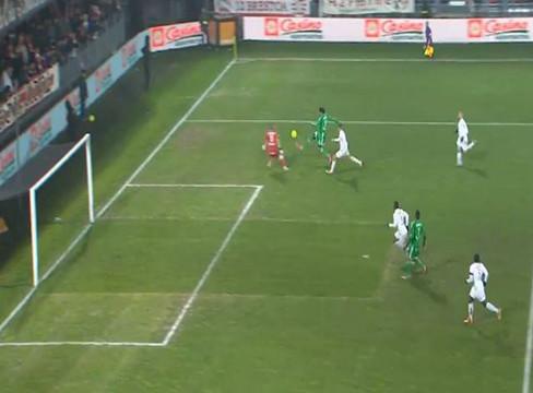 Stade Brestois 0-1 Saint-Etienne