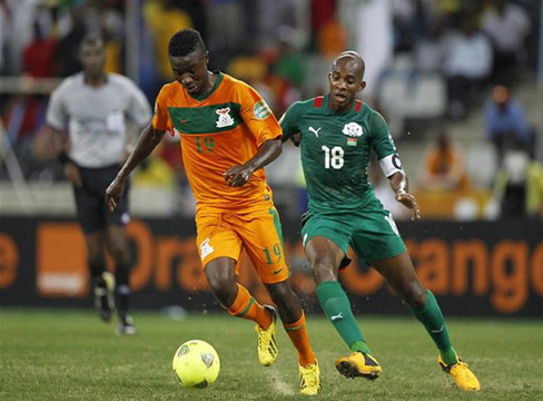 Burkina Faso 0-0 Zambia