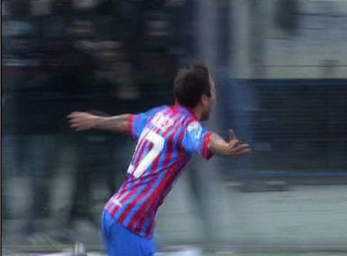 Catania 1-0 AS Roma