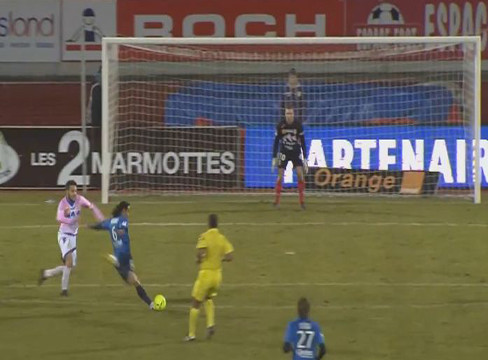 Evian TG 0-2 Brest