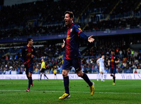 Malaga 2-4 Barcelona