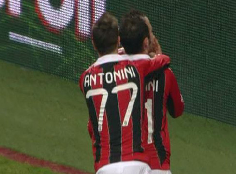 AC Milan 2-1 Siena