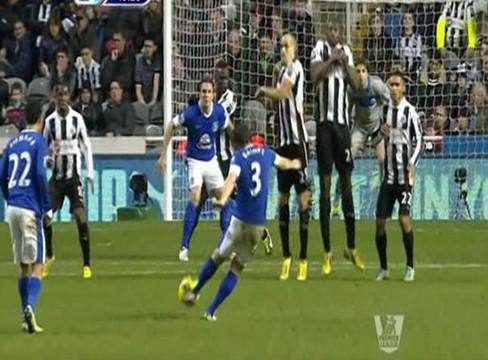 Newcastle United 1-2 Everton