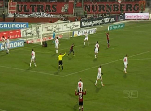 Nurnberg 1-1 Hamburger SV