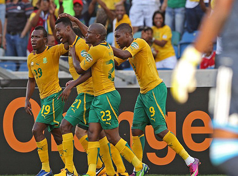 South Africa 2-0 Angola