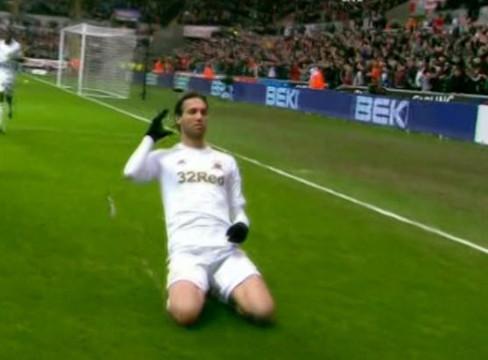 Swansea City 2-2 Arsenal