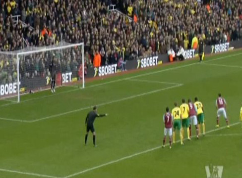 West Ham United 2-1 Norwich City