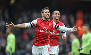 Arsenal 2-1 Aston Villa