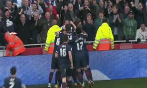 Arsenal 0-1 Blackburn Rovers