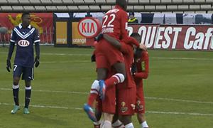 Bordeaux 0-2 Brest