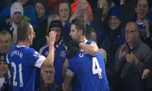 Everton 3-1 Oldham Athletic