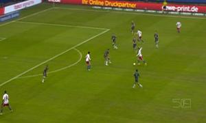 Hamburger SV 1-0 Borussia Monchengladbach