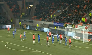 Lorient 2-1 Evian TG