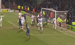 Oldham Athletic 2-2 Everton